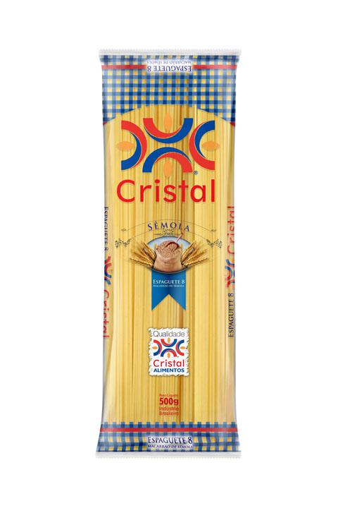 Macarrão Cristal Sêmola Espaguete 8