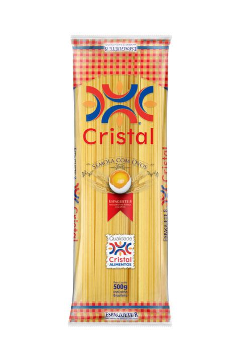 Macarrão Cristal Sêmola com Ovos Espaguete 8