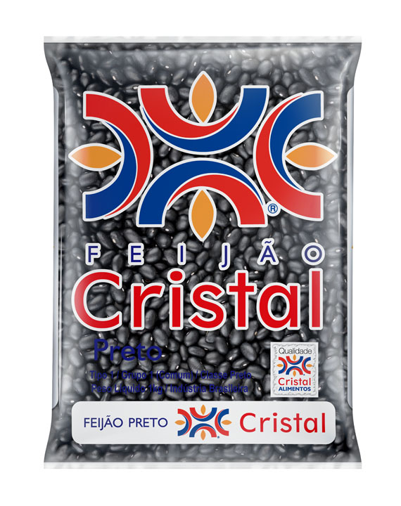 Feijão Cristal Preto